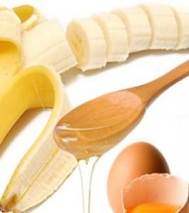 banaan, ei en honing